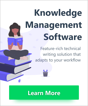 Knowledge Management Software. Feature-rich technical writing solution that adapts to your workflow. Click to learn more...