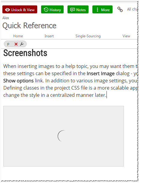 Paste images from screen capturing tools
