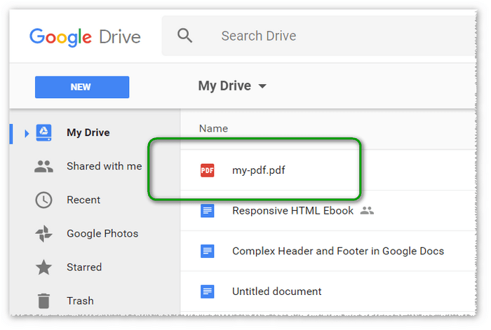 converting pdf to word google docs