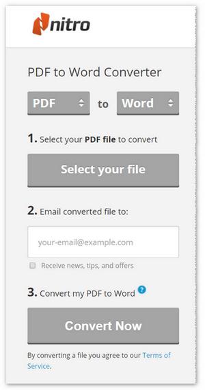 pdf to word online free nitro