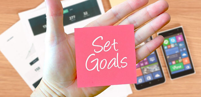Set the goals