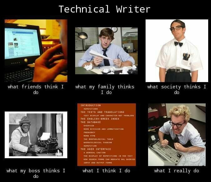How people see technical writers