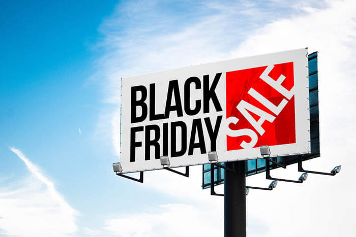 black friday ad space banner