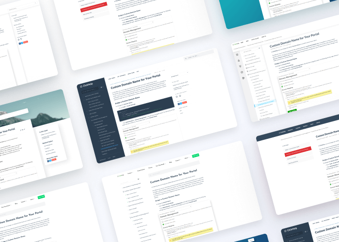 Reader UI Templates Collage