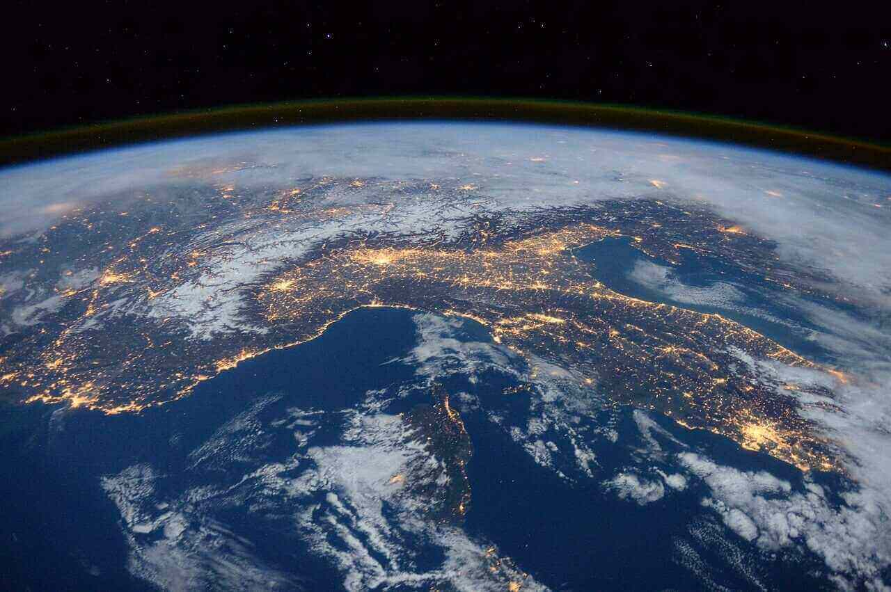 pic from international space station