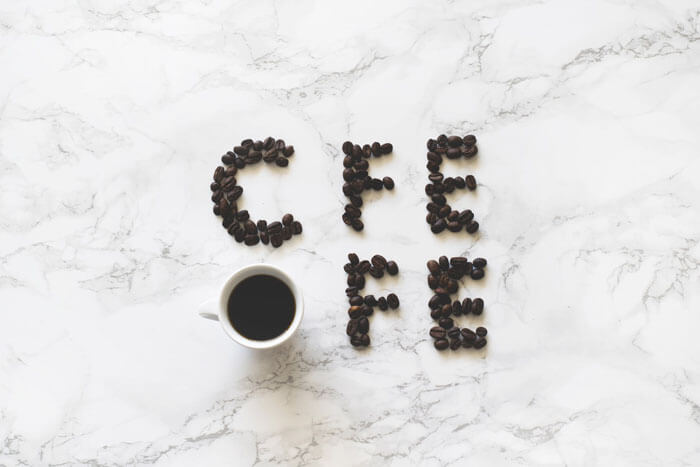 coffee letters banner